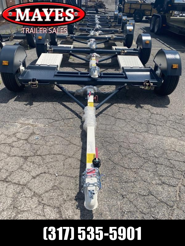 2021 Stehl-Tow ST80TD Tow Dolly - No Brake - 2 Inch Coupler - 14 Inch Radial Tires (GVW:  2999)