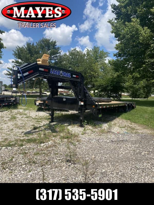 2021 Load Trail GP0230102 Equipment Trailer - 102x30 (25+5) TA Low Pro Gooseneck - 5 Foot Self Clean Dovetail - LED Lights - Front Tool Box - Winch Plate - Max Steps (GVW:  24000)