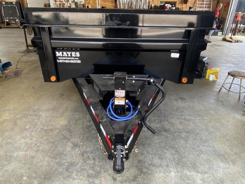 2022 Load Trail DT8314072 Dump Trailer -83x14 TA - Tarp Kit - Scissor Hoist - 2 Way Gate - Spare Tire MOUNT ONLY (GVW:  14000)
