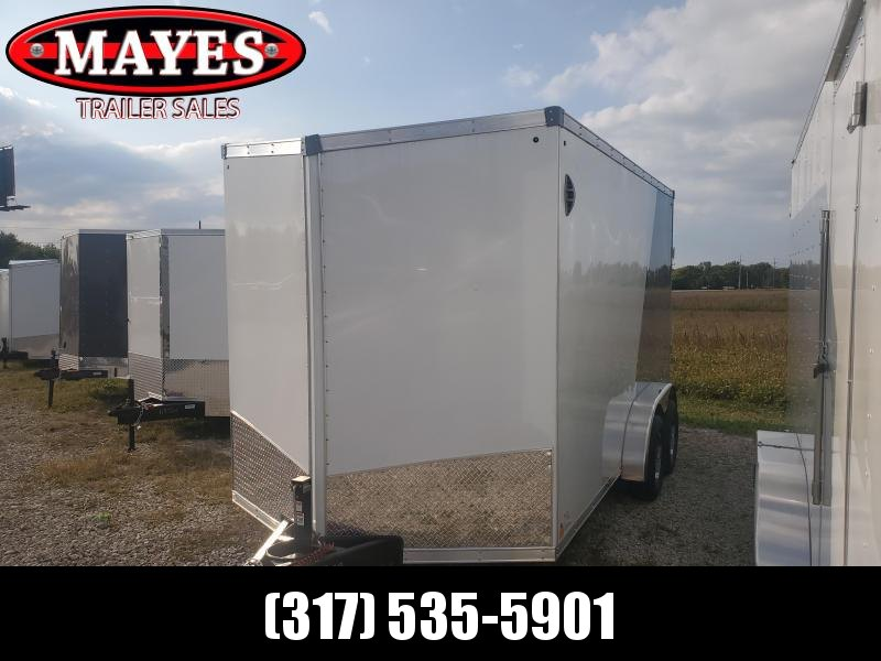2021 Sport Trailers VECS-714TA35-S Enclosed Cargo Trailer 7x14 TA- Ramp Door - Side Door - Alum. Roof - Aluminum Wheels (GVW:  7000)