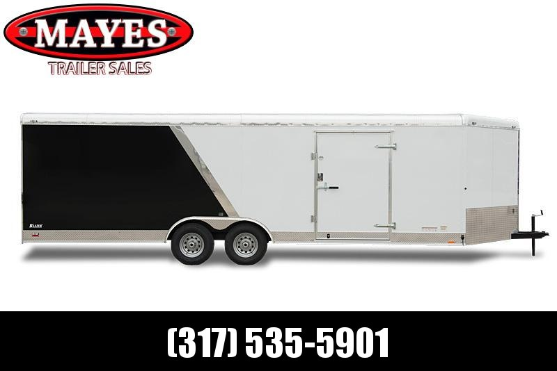 2022 Cargo Mate BL820TA2 Enclosed Cargo Trailer - 8x20 TA - Ramp Door - HD Cage Package - 54 Inch Ext Triple Tube Tongue - Alum Roof - 12 Inch Additional Height (GVW:  14000)