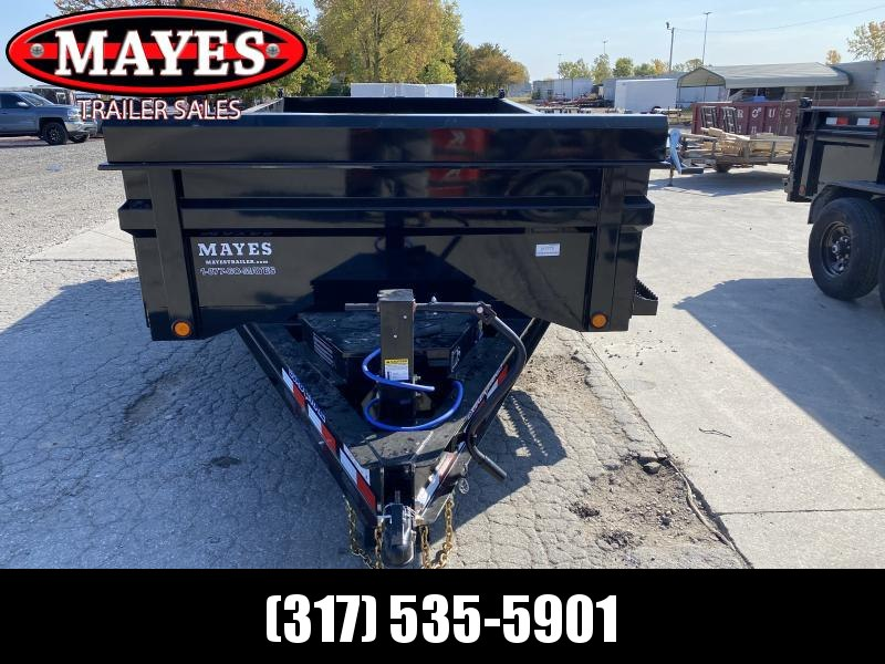 2021 Load Trail DT8314072 Dump Trailer - 83x14 TA Dump - 24 Inch Dump Sides - 2 Way Gate - Slide In Ramps - Scissor Hoist - Spare Tire MOUNT ONLY - Tarp Kit (GVW:  14000)