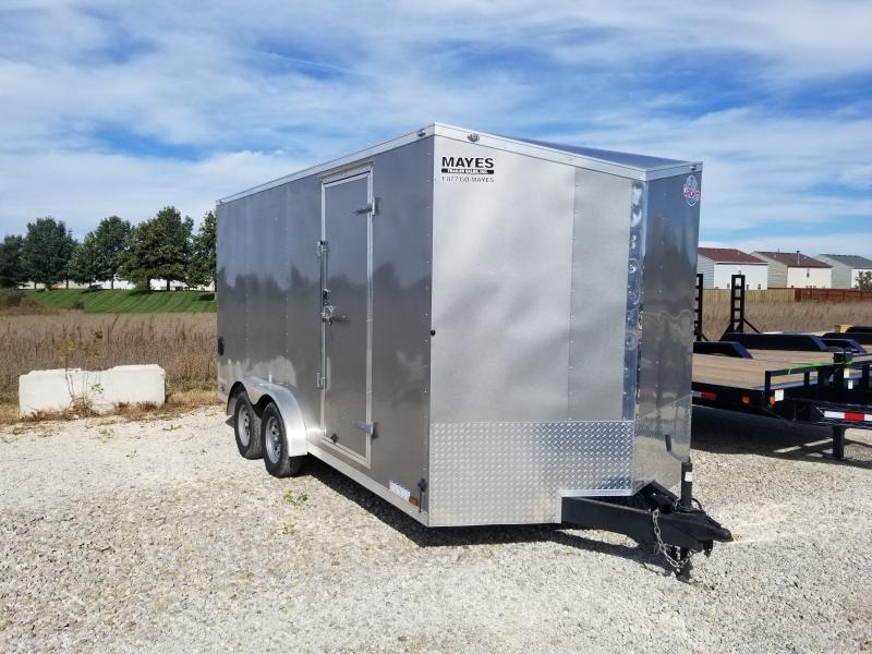 2020 Cargo Mate EHW716TA2 Enclosed Cargo Trailer 7x16 TA (GVW:7000)