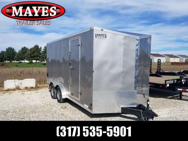 USED 2020 Cargo Mate EHW716TA2 Enclosed Cargo Trailer 7x16 TA (GVW:7000)