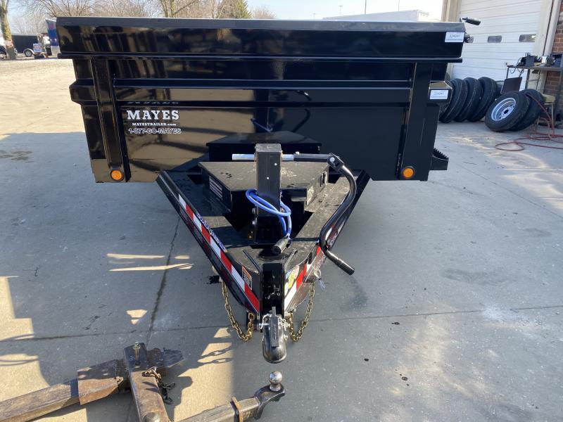 2021 Load Trail DT8314072 Dump Trailer - 83x14 TA - 24 Inch Dump Sides - 2-Way Gate - 10 Gauge Floor - Slide In Ramps - D-Rings - Scissor Hoist - Spare Tire MOUNT ONLY (GVW:  14000)