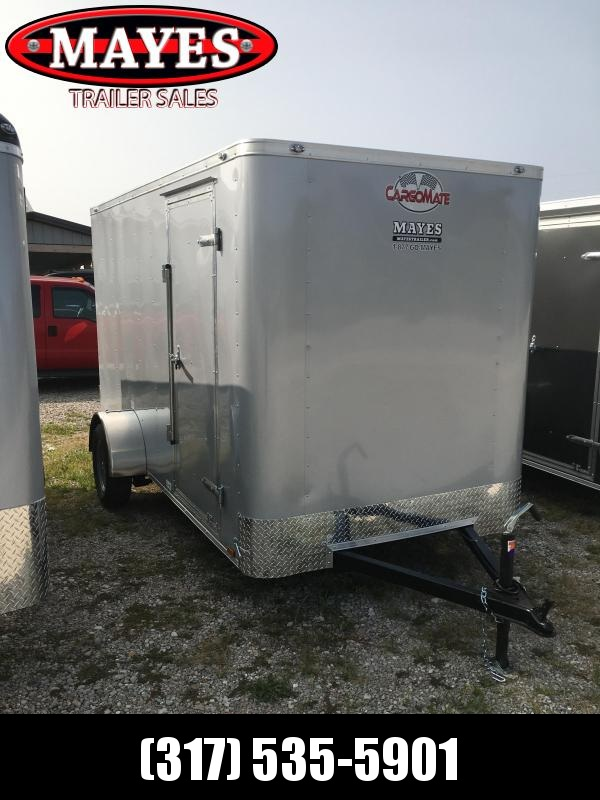 2021 Cargo Mate SSV612SA Enclosed Cargo Trailer - 6x12 SA - Ramp Door - 6 Inch Additional Height - Flat Front 6 Inch Bow (GVW:  2990)