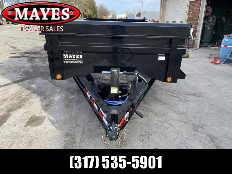 2021 Load Trail DT8314072 Dump Trailer - 83x14 TA - Tarp Kit - Slide-In Ramps - 24 Inch Dump Sides - 2 Way Gate - D-Rings - Spare Tire MOUNT ONLY (GVW:  14000)