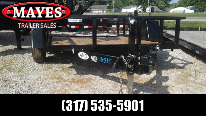 2019 76x12 American Manufacturing Operations (AMO) UF121 Utility Trailer - 76x12 TAUT  (GVW:  7000)