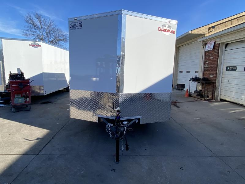 2021 Cargo Mate EHW714TA2 Enclosed Cargo Trailer - 7x14 TA - Ramp Door - E & V Series Pkg. #2 - Side Door (GVW:  7000)