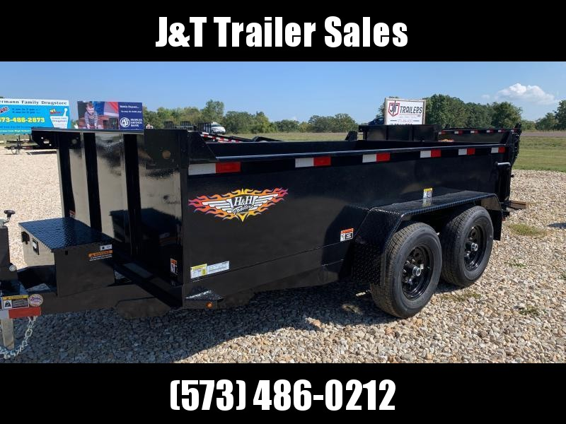 2022 H&H Trailers 76x12 Utility Dump Trailer 10K Single Ram (H7612UD-24-100) Dump Trailer