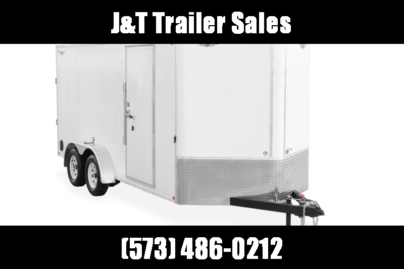 2021 H&H Trailers 8.5x20 HH Series Flat Top V-Nose Enclosed Cargo Trailer 10K Tandem (H10120TFTV-100) Enclosed Cargo Trailer