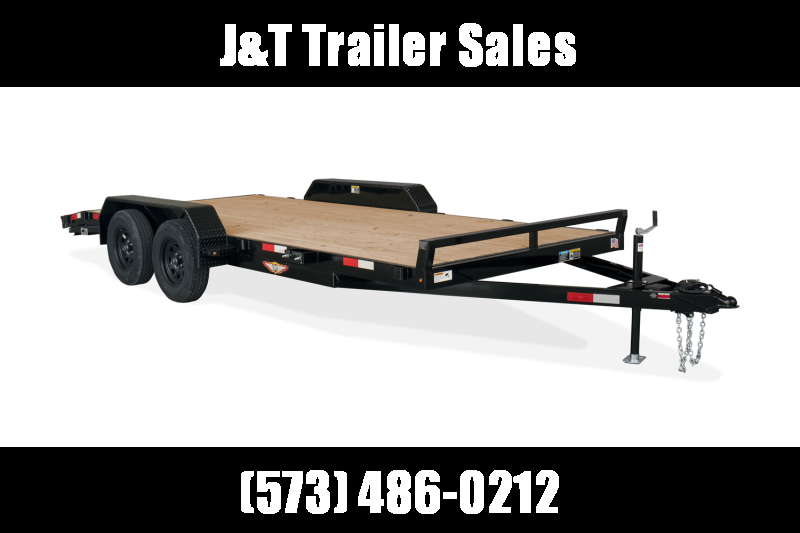 2021 H&H Trailers H8216+2GDFD-070 General Duty Car / Racing Trailer