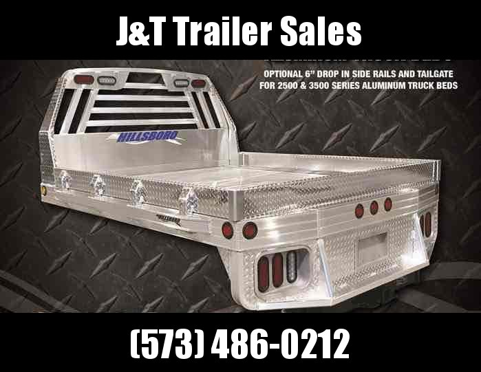 2021 Hillsboro 2500 Aluminum Truck Bed