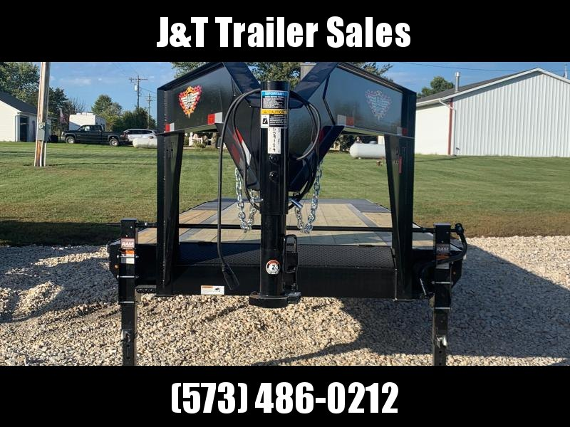 2022 H&H Trailers H20+5SDBCL-GN14-140 Equipment Trailer