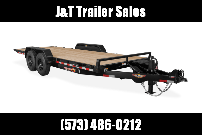 2021 H and H Trailer H8224EX-140 Car / Racing Trailer