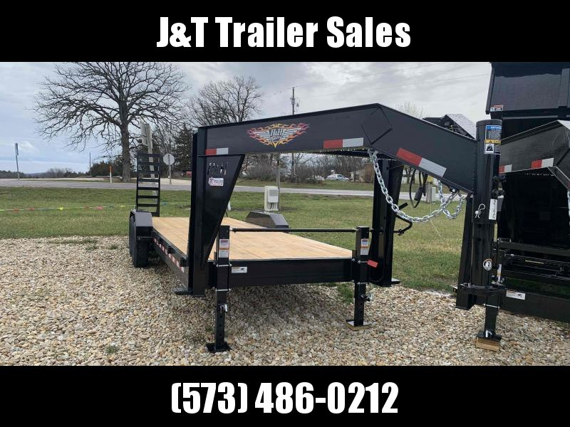 2021 H&H Trailers 82x18+2 Gooseneck Industrial Equipment Trailer 14K (H8220IL-GN-140) Equipment Trailer