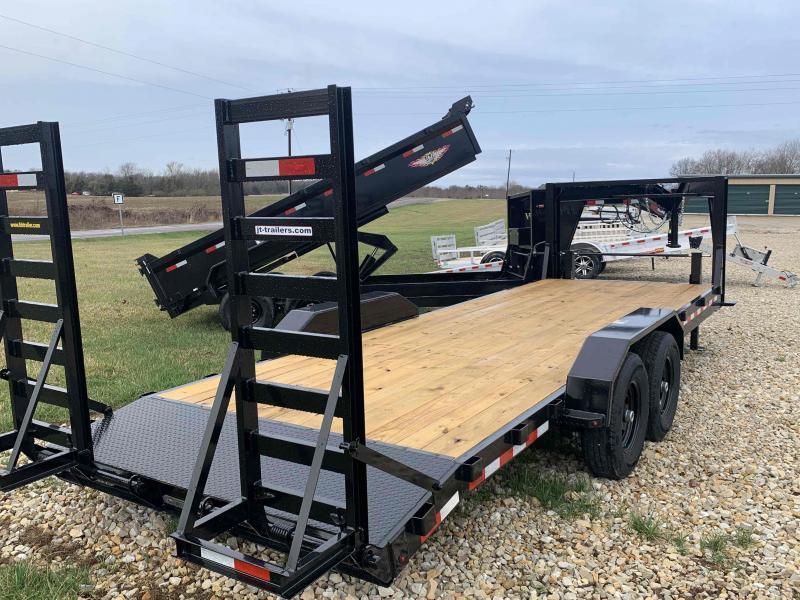 2021 H&H Trailers 82x18+2 Gooseneck Industrial Equipment Trailer 14K (H8220IL-GN-140) Equipment Trailer