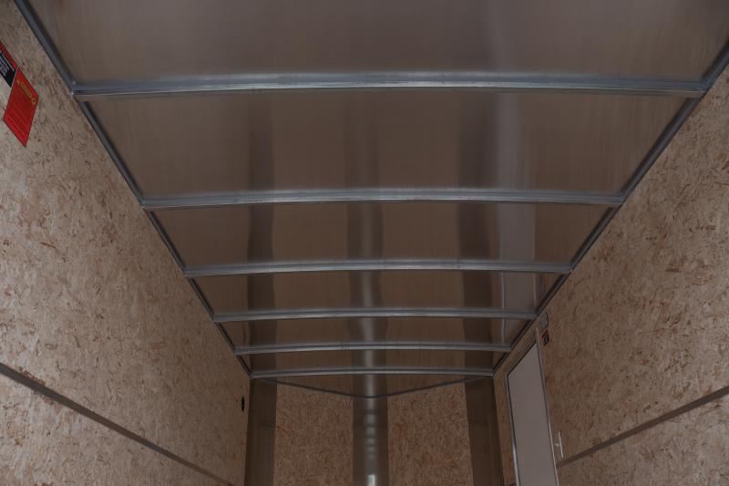 2021 H & H Trailer 6x12 HH Series Flat Top V-Nose Enclosed Cargo Trailer 3K Idler (H7212SFTV-035) Enclosed Cargo Trailer