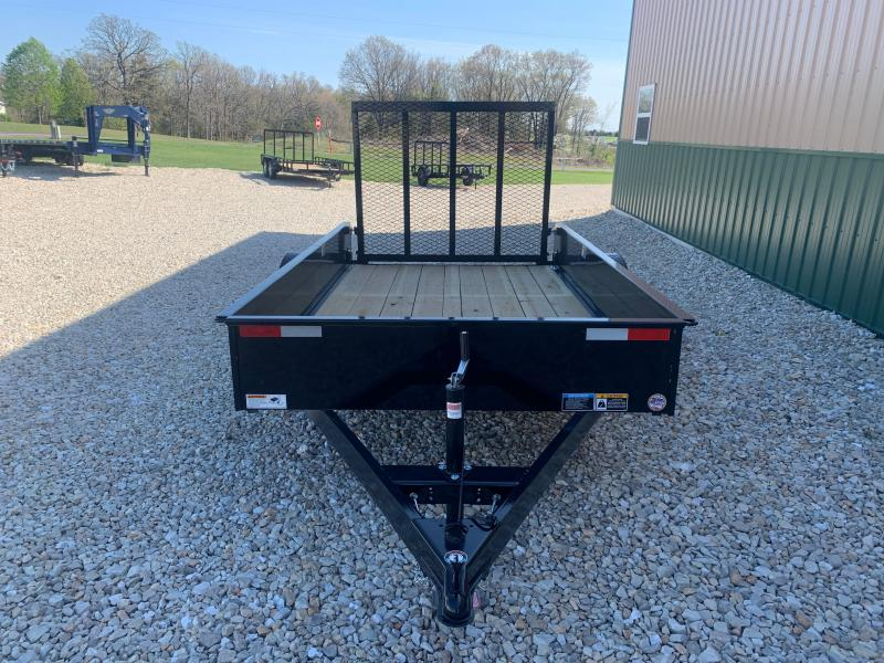 2021 H&H Trailers 66x10 Solid Side Utility Trailer 3K Idler (H6610SS-030) Utility Trailer