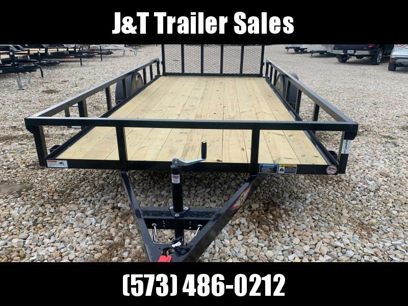 2022 H&H Trailers 82x14 Rail Side Utility Trailer 3K Idler (H8214RS-030) Utility Trailer