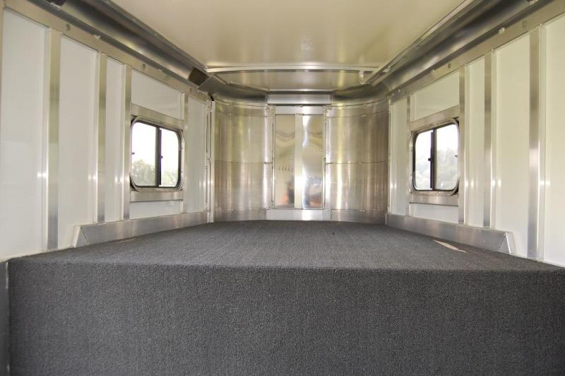 2018 Hart MVP 4 Horse Trailer w/ 4' Dressing Room