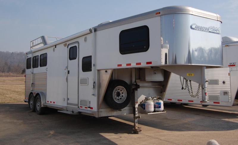 2010 Cimarron Trailers NorStar Horse Trailer