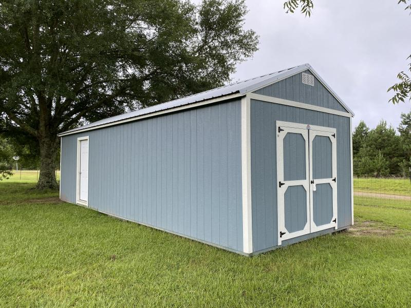 2020 Derksen 12 x 32 Painted Side Utility Shed