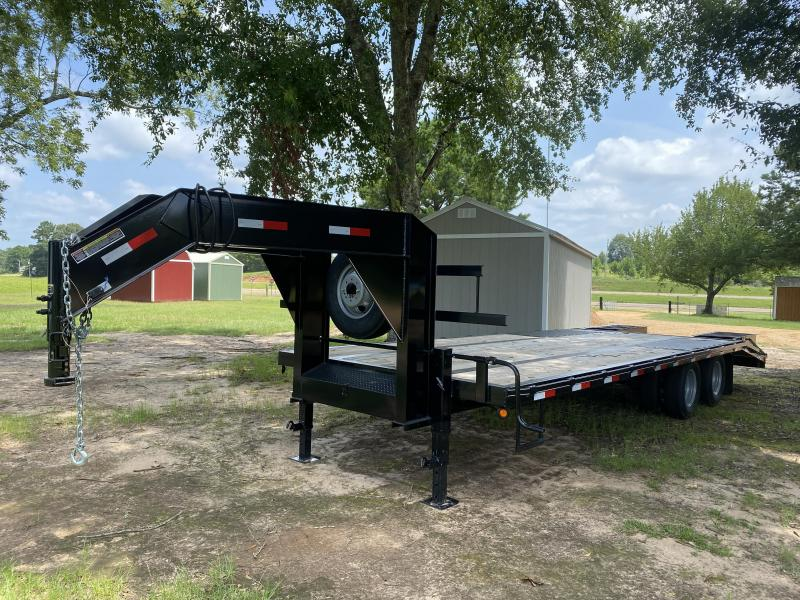 2020 C&W Trailers 102-25-FB-10K-2 Flatbed Trailer
