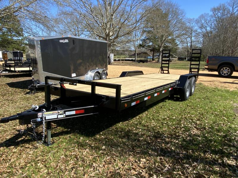 2021 CW 7-24-FB-7K-2 Equipment Trailer
