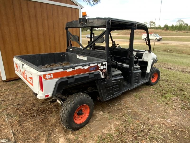2015 Bobcat 3400XL(4X4) DIESEL Utility Side-by-Side (UTV)