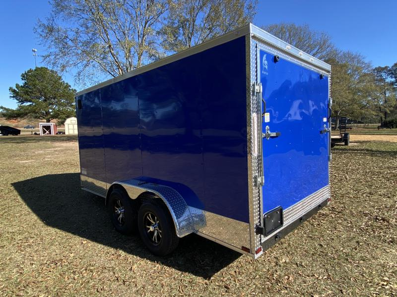 2021 Spartan Cargo S7X14TA Enclosed Cargo Trailer
