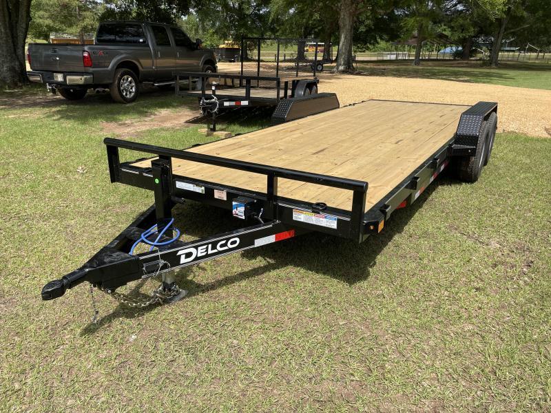 2021 Delco Trailers 7x20 6K Axles Equipment Trailer