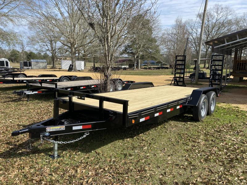 2021 CW 7-20-7K-FB2 Equipment Trailer
