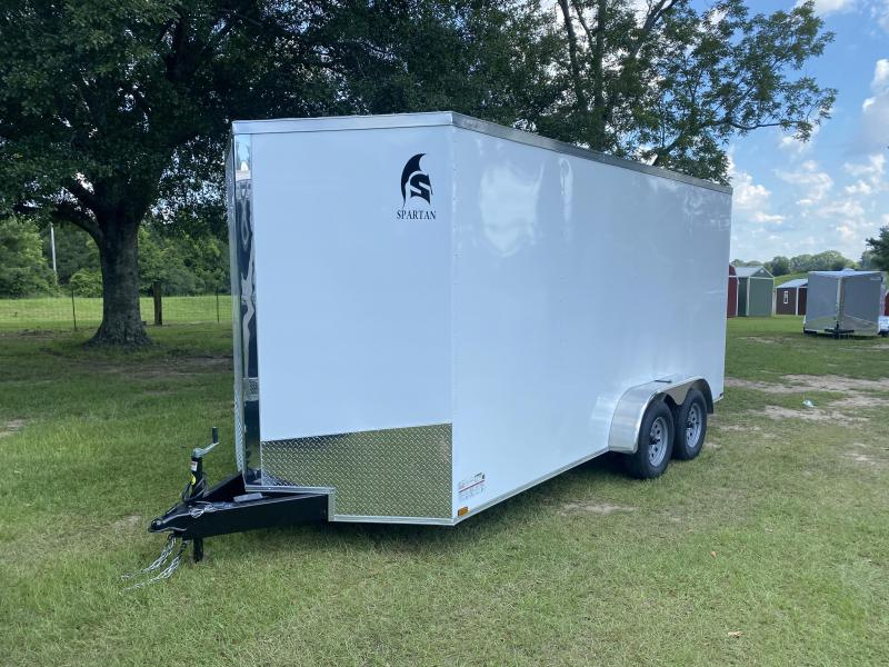 2020 Spartan Cargo Spartan S7X16TA Enclosed Cargo Trailer 7' Interior Height