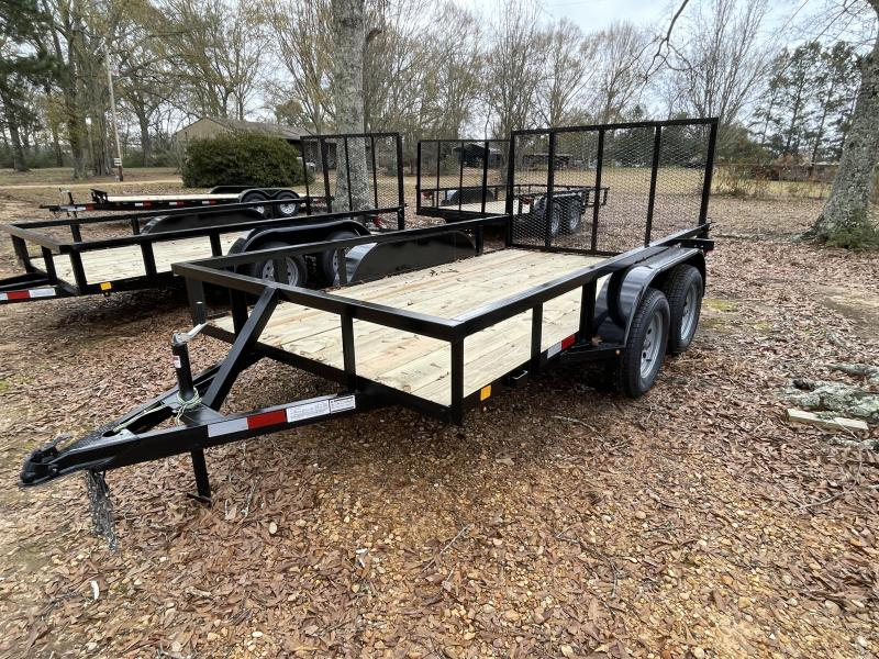 2021 C&M 76 X 12 TAN LIGHT Utility Trailer