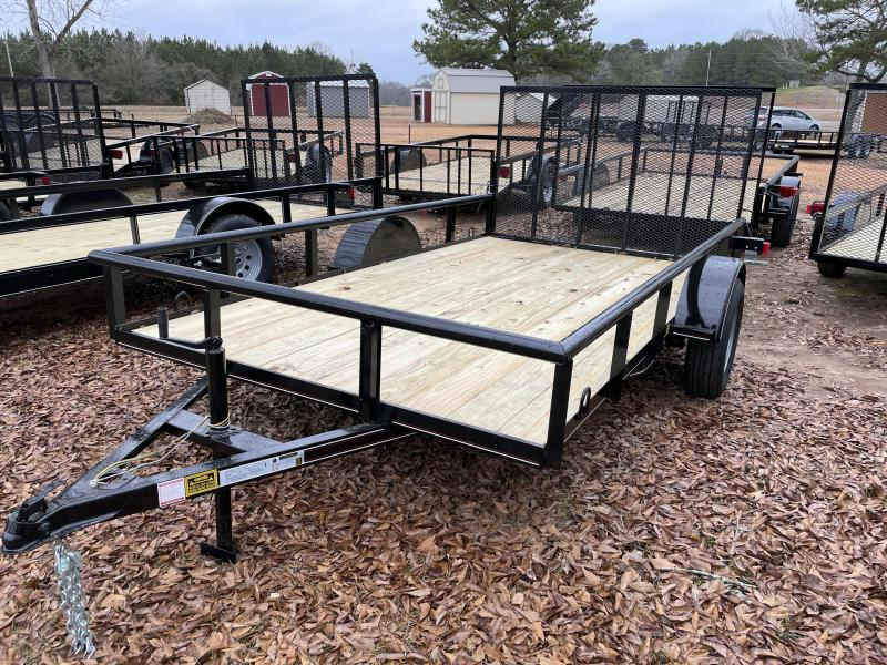 2021 Triple R 6 1/2 X 12 PIPETOP Utility Trailer
