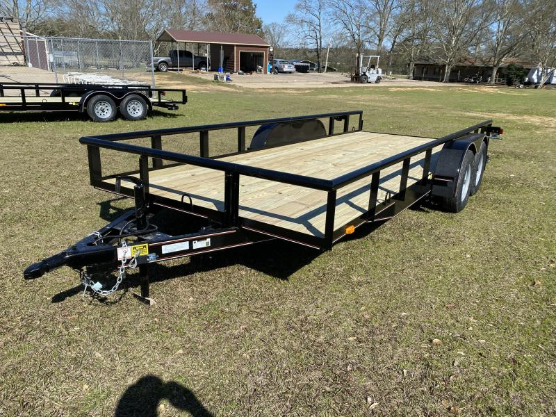 2021 Triple R 82 x 18 TDM-2-3500-1BRAKE Utility Trailer