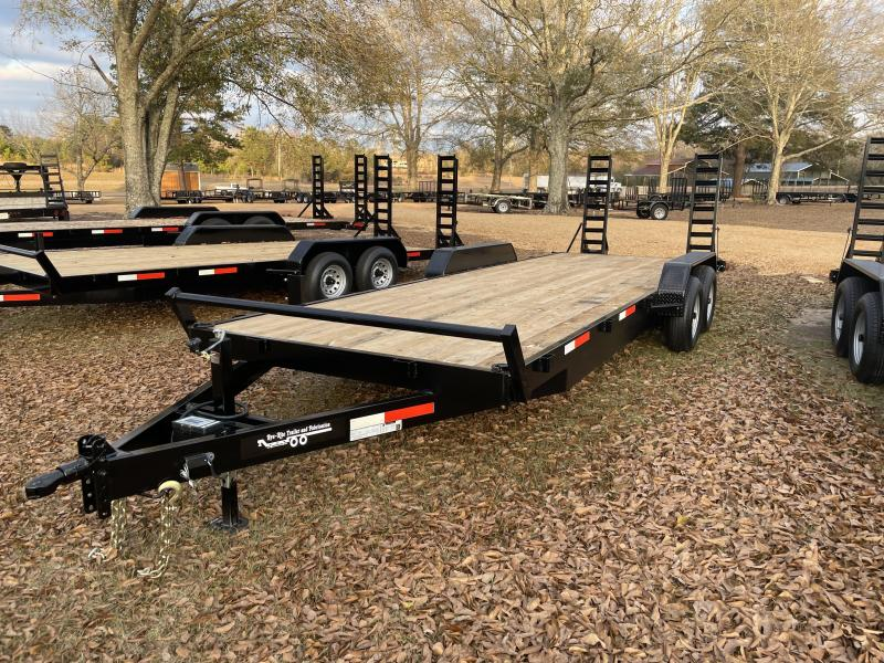 2021 Bye Rite 7 X 24 10K Equipment Trailer