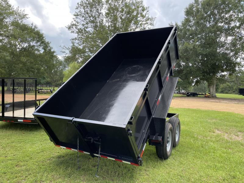 2021 C&W Trailers 6-12-7K-DT-2 Dump Trailer