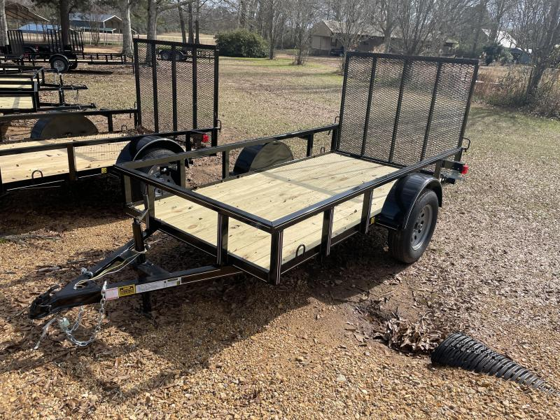 2021 Triple R 5 x 10 Tube Top Utility Trailer