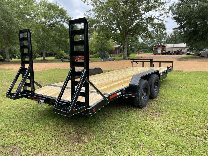 "2021 J&C Trailers 83"" X 20' CAR HAULER 140000 GVWR Equipment Trailer"