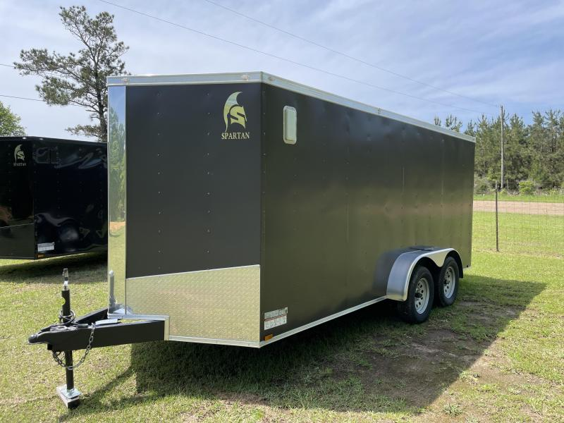 2021 Spartan Cargo SP7X16 TA(.030 BRONZE COLOR) Cargo / Enclosed Trailer