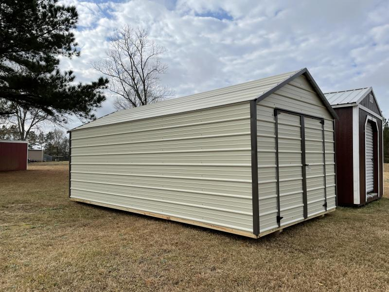2021 Derksen 10 X 20 BEST VALUE METAL Utility Shed