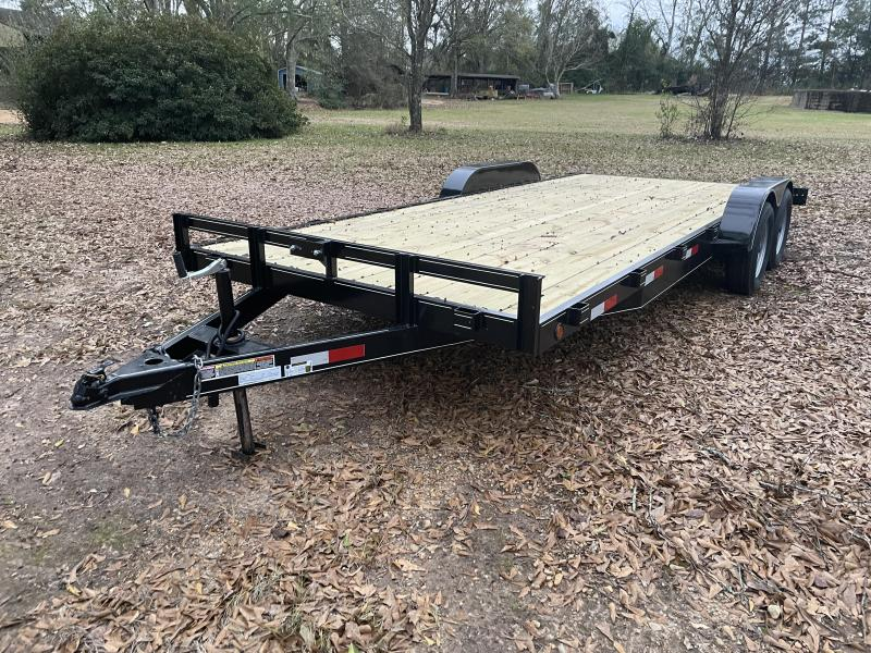 2021 C&W Trailers 7-20-3.5K-FB2 Car / Racing Trailer