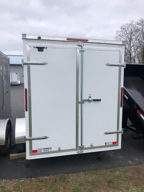 2021 Haulmark 610dbl Enclosed Cargo Trailer