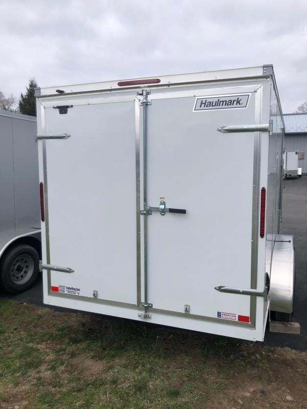 2021 Haulmark 714dbl Enclosed Cargo Trailer