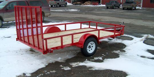 2022 Cross Country Manufacturing 61235 Utility Trailer