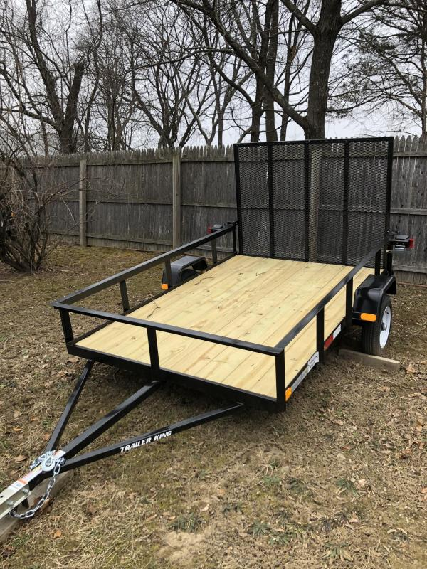 2021 Cross Country Manufacturing cc58 Utility Trailer