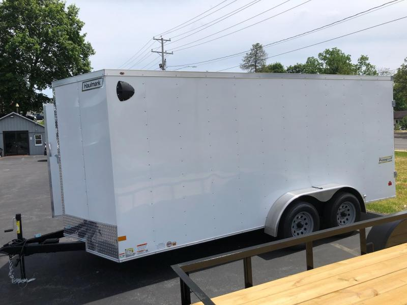 2021 Haulmark 7x16dbl Enclosed Cargo Trailer
