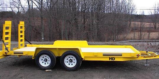 2020 Cross Country Manufacturing 5HD18 Equipment Trailer